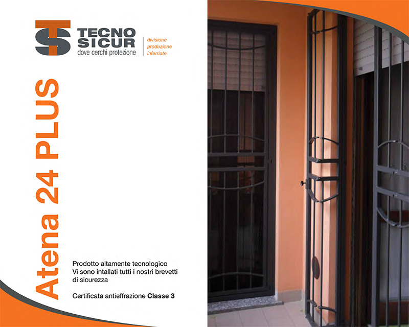 Catalogo Inferriate Sicurezza Classe 3 ATENA