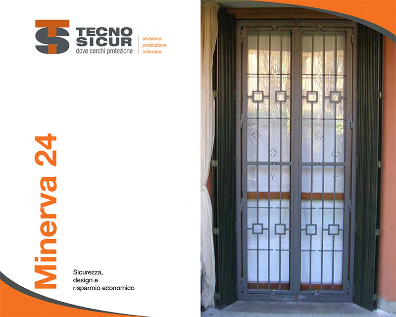 Catalogo Inferriate Sicurezza MINERVA 24