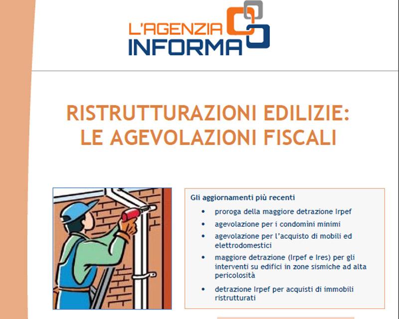Guida alle agevolazioni fiscali 2016