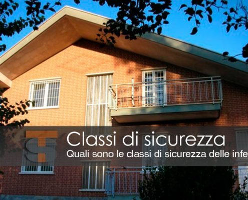 Inferriate classi di sicurezza