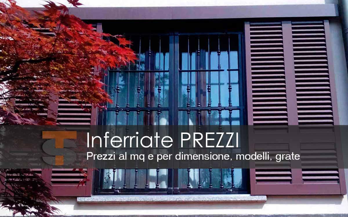 Inferriate prezzi modelli e grate tecno sicur for Grate in legno per balconi