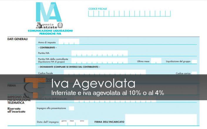 Iva Agevolata Inferriate