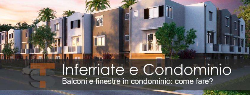 Inferriate e condominio
