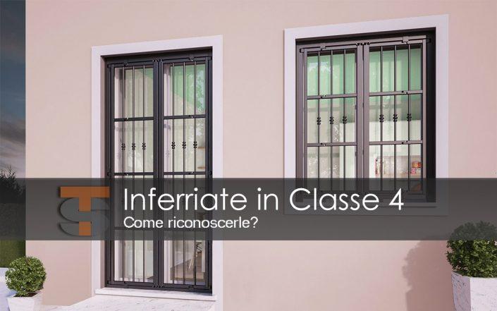 Inferriate Classe 4 come riconoscerle