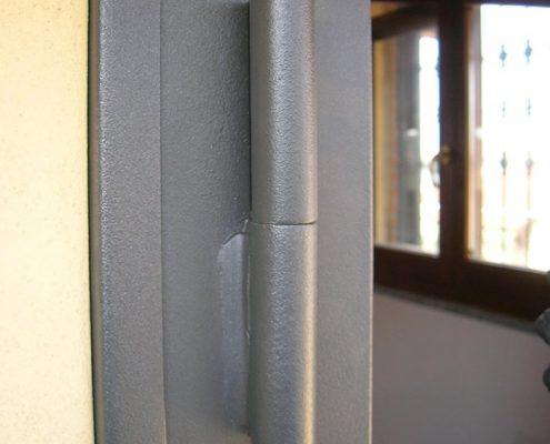 Inferriata Porta Finestra Classica Doppia Borchia Tonda 05 Dettaglio