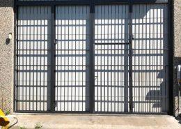Inferriate per finestre con forme irregolari antracite 02