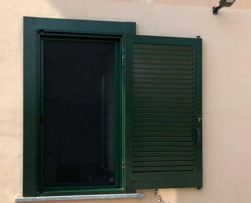 Persiana blindata SICURA 3 verde ral 03