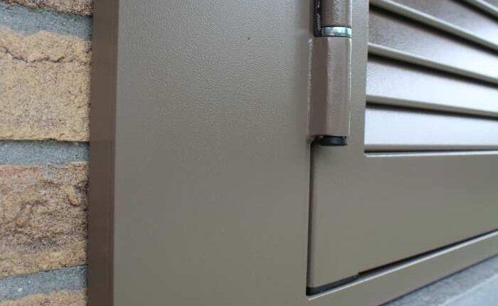Persiana blindata SICURA4 grigio ral 13