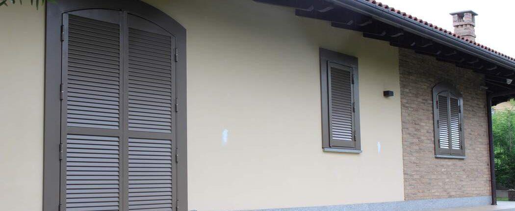 Persiana blindata SICURA4 grigio ral 15
