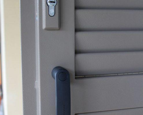 Persiana blindata SICURA4 grigio ral 19