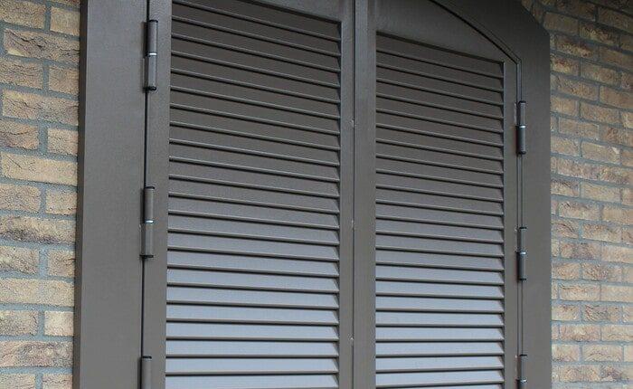 Persiana blindata SICURA4 grigio ral 25