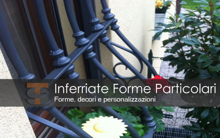 Inferriate di forme particolari