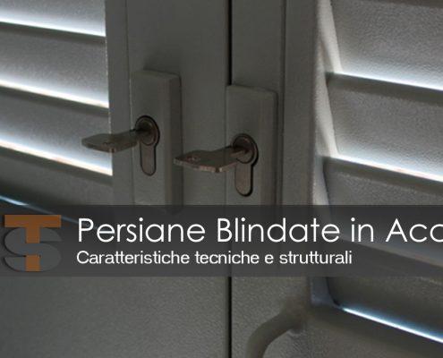 Persiane Blindate in Acciaio
